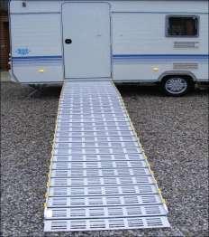 campingvogn med rampe til kørestol