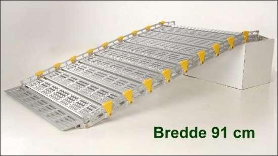 Rampe bredde 91 cm fx. som kørestolsrampe HMI NR. 47732: